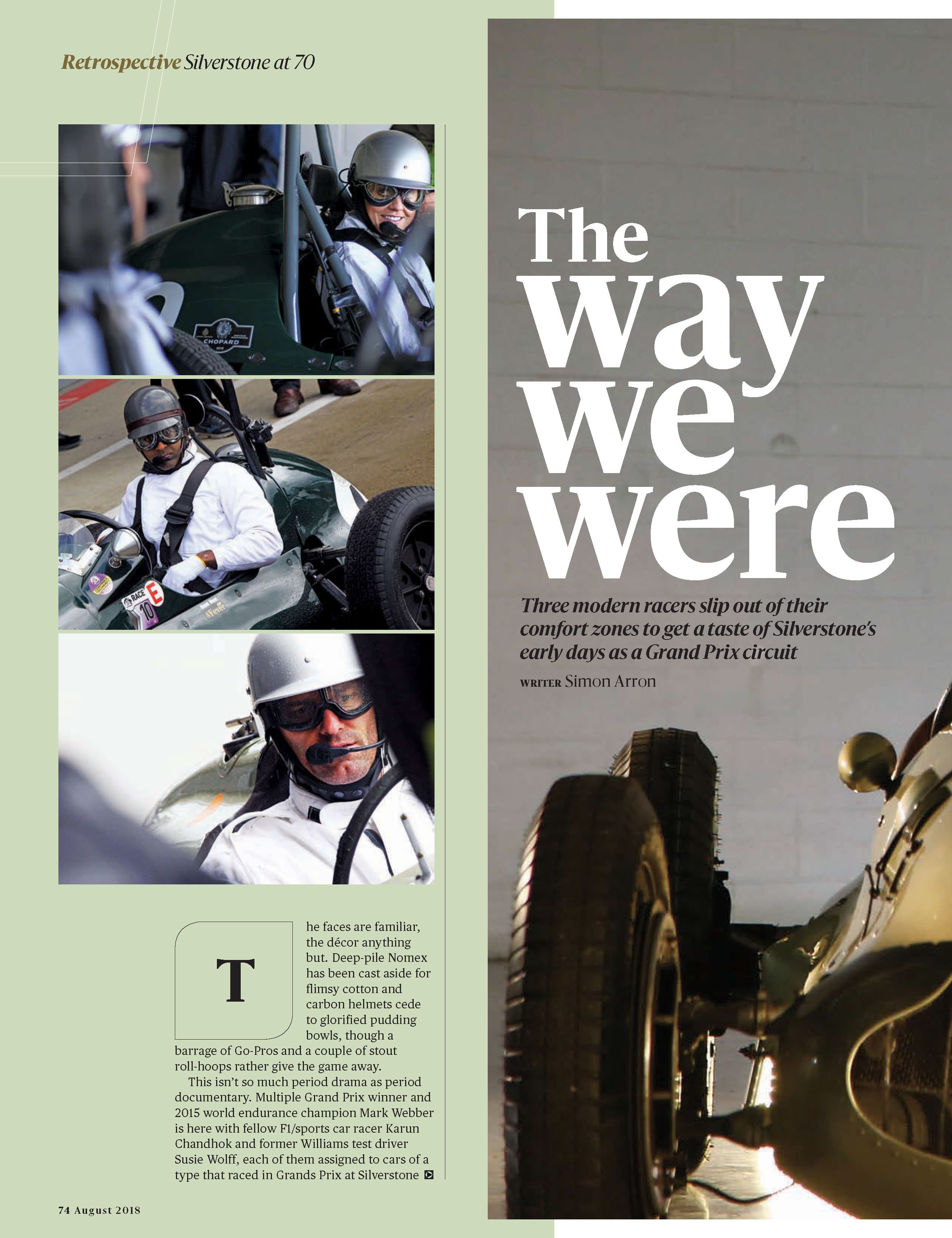Silverstone at 70: The way we were image