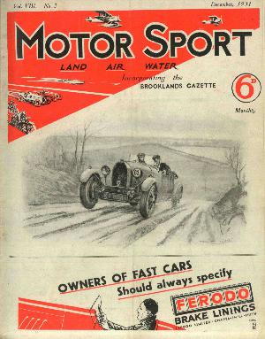 Cover image for December 1931