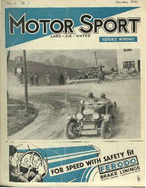Cover of archive issue December 1932