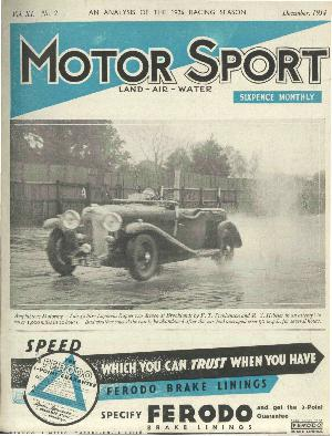 Cover of archive issue December 1934