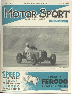 Cover of archive issue December 1935