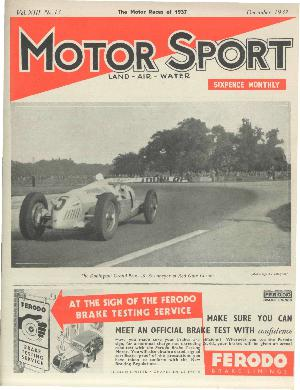 Cover of archive issue December 1937