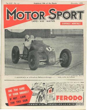 Cover of archive issue December 1938