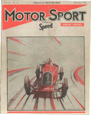 Cover of archive issue December 1939