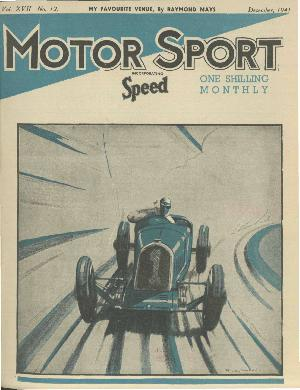 Cover of archive issue December 1941
