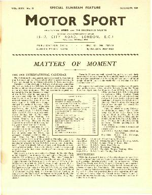 Cover of archive issue December 1949