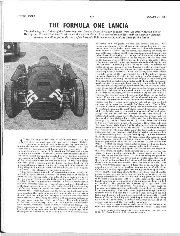 The Formula e Lancia