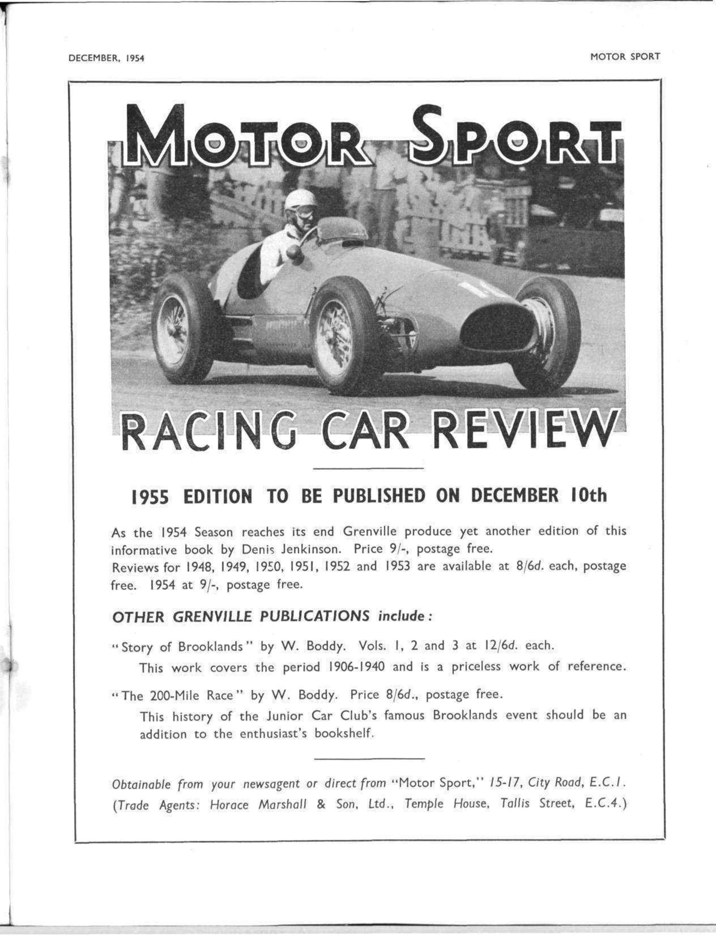 Motor Sport Racing Car Review