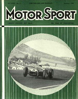 Cover of archive issue December 1960
