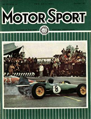 Cover of archive issue December 1963