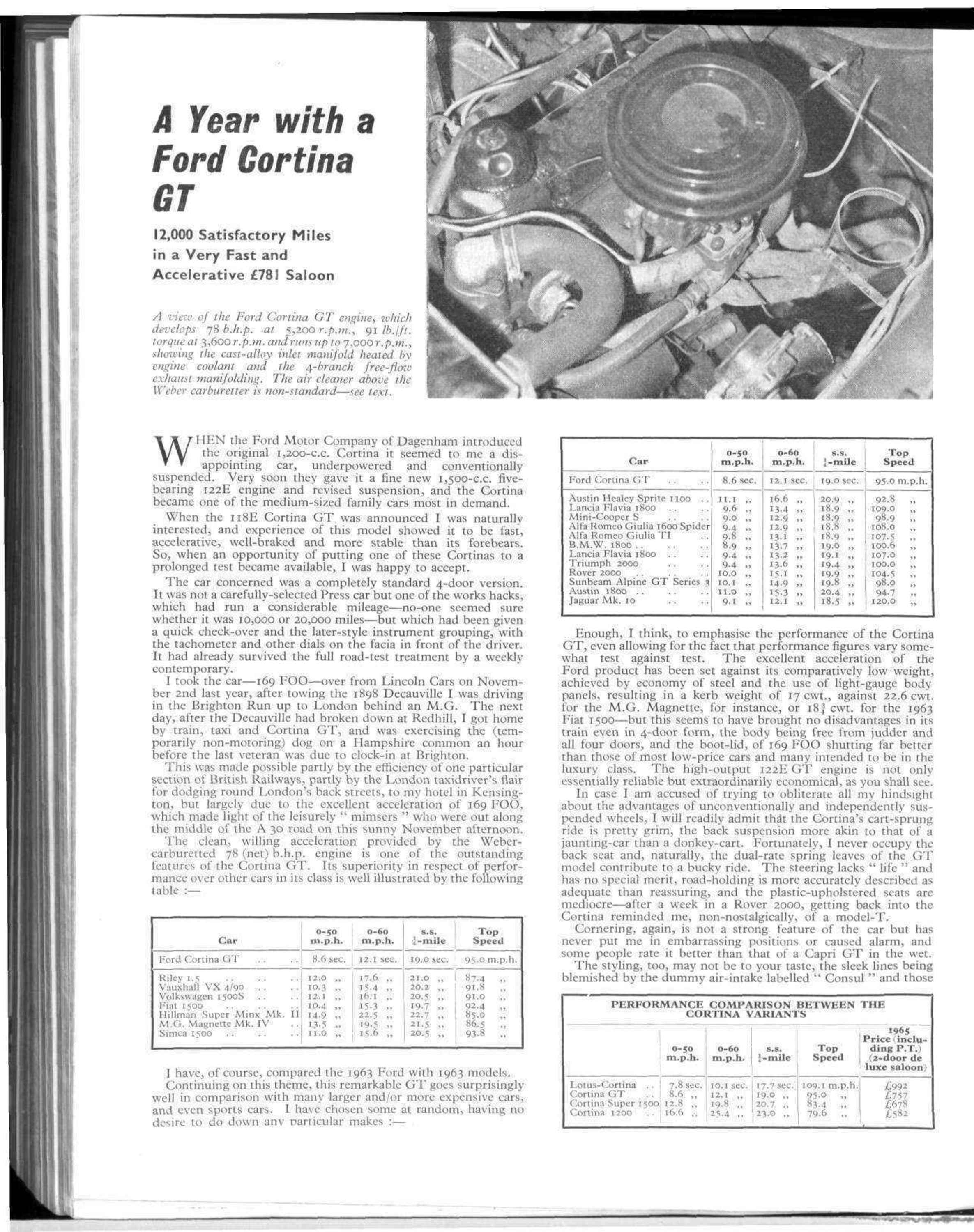 A Year with a Ford Cortina GT image