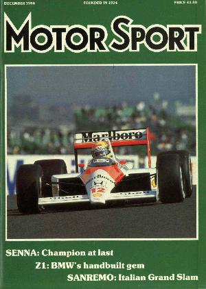 Cover of archive issue December 1988