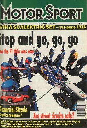 Cover of archive issue December 1995