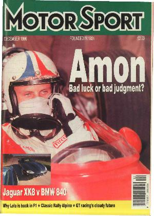 Cover of archive issue December 1996
