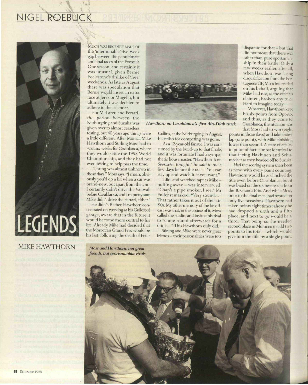 Legends   Mike Hawthorn image