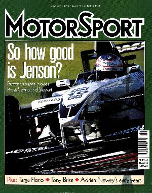 Cover image for December 2000