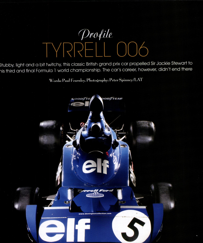 Tyrrell 006 image