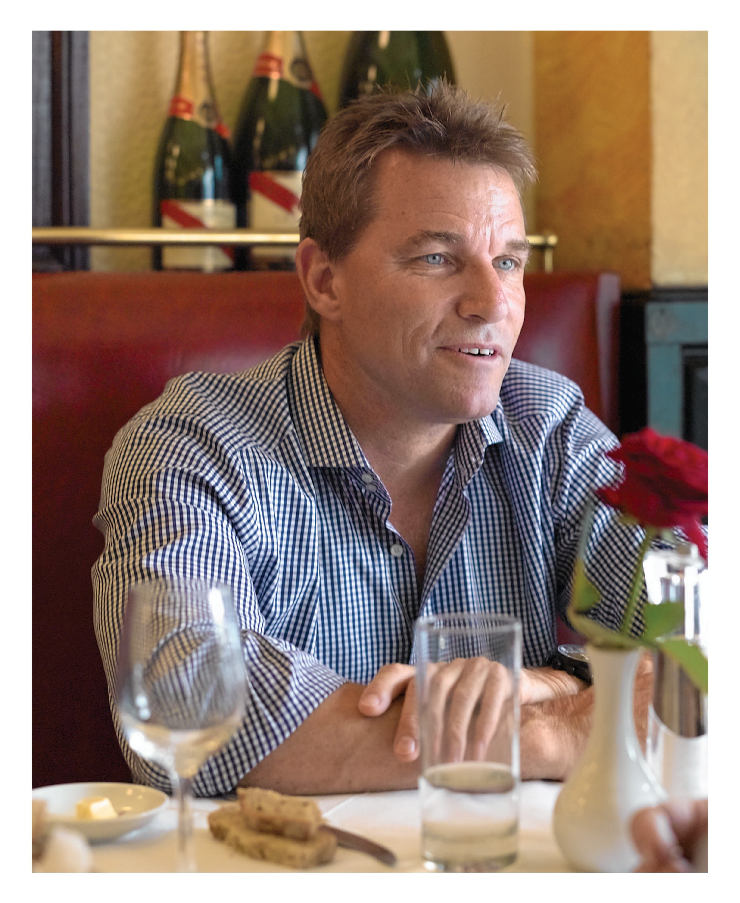 lunch with stefan johansson image