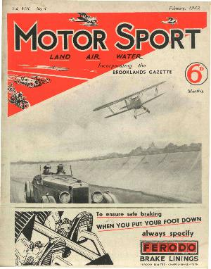 Cover image for February 1932