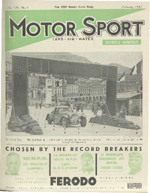 Cover of archive issue February 1937
