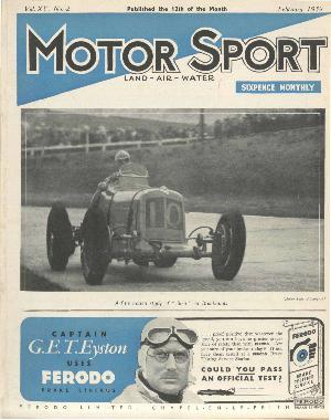 Cover of archive issue February 1939