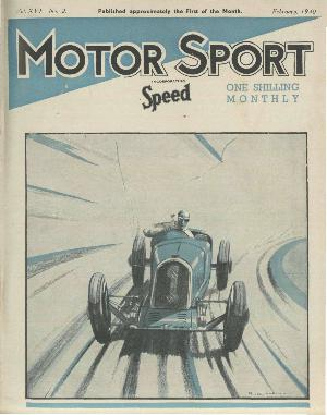 Cover of archive issue February 1940