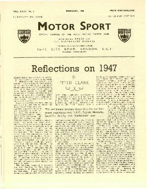 Page 3 of February 1948 archive issue thumbnail