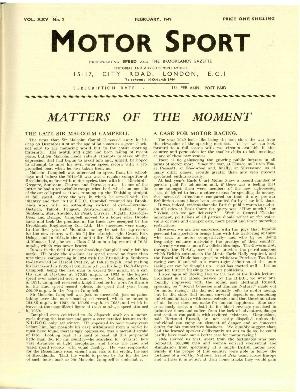 Page 3 of February 1949 archive issue thumbnail