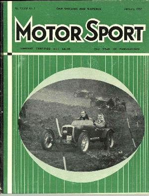Cover of archive issue February 1957