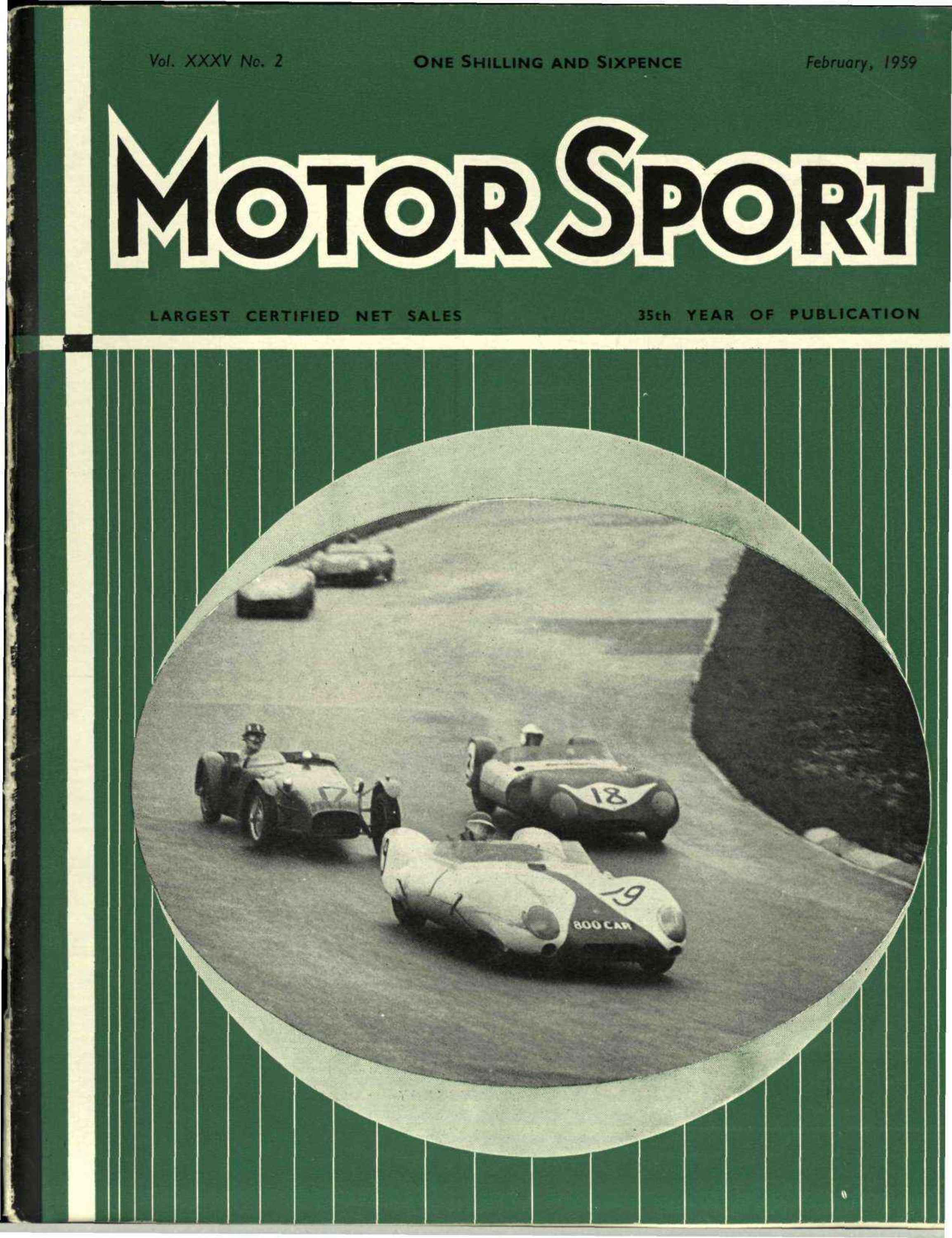 Cover image for February 1959