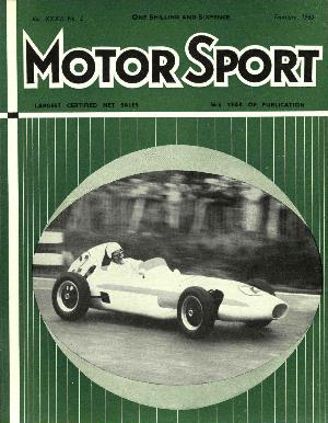Cover image for February 1960