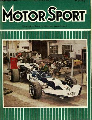 Cover image for February 1971
