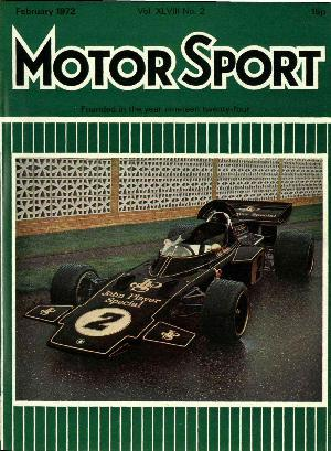 Cover image for February 1972