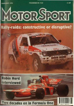 Cover of archive issue February 1992