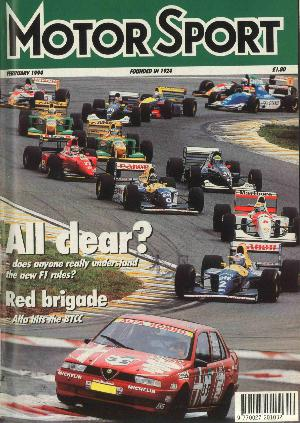 Cover of archive issue February 1994