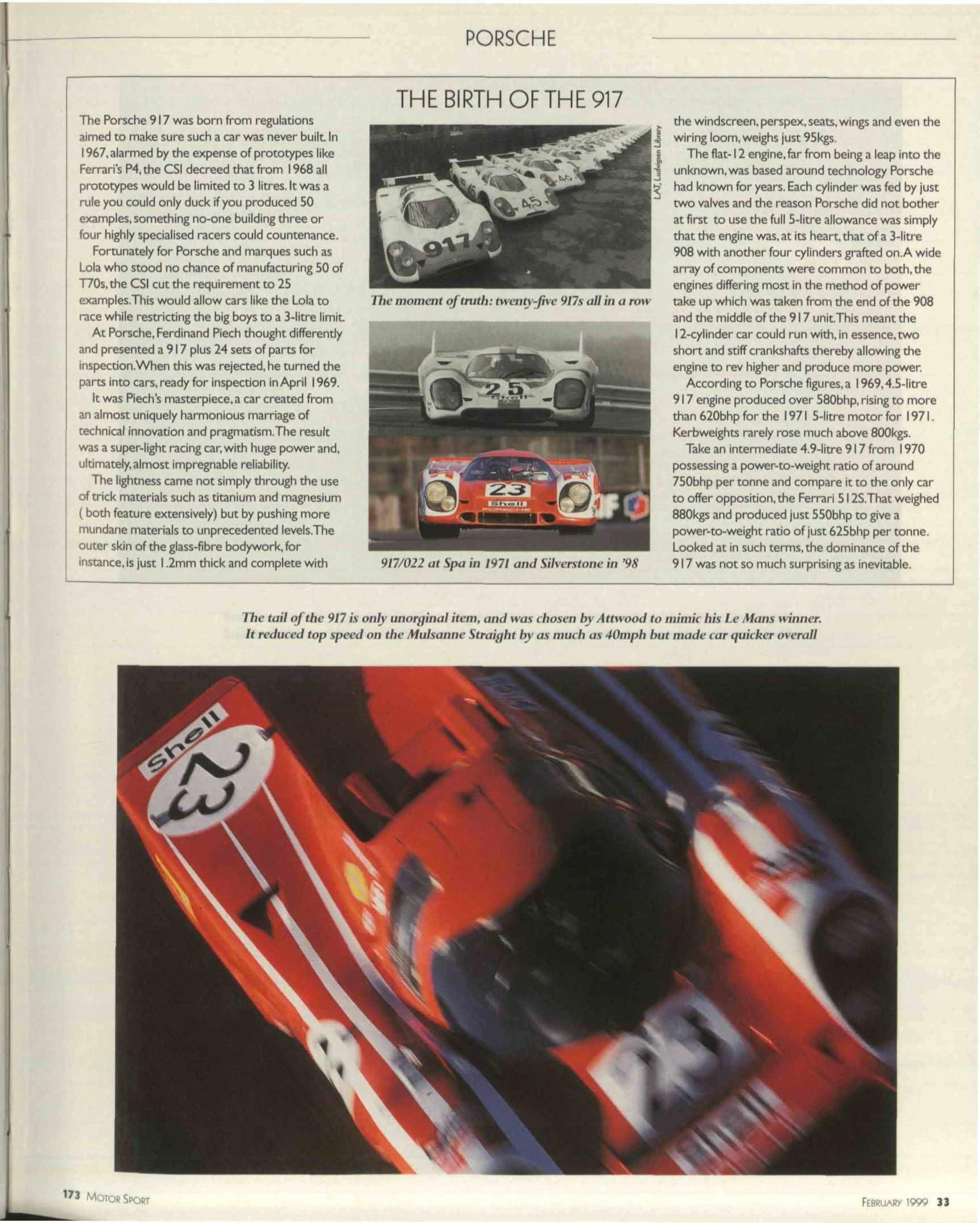 the birth of the 917 image