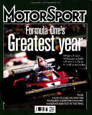 Cover of archive issue February 2001