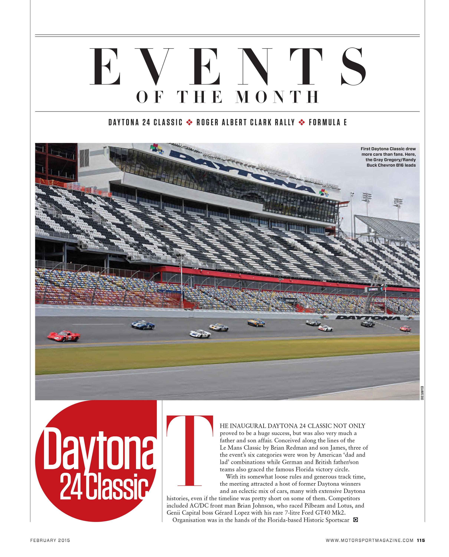 Daytona 24 Classic image
