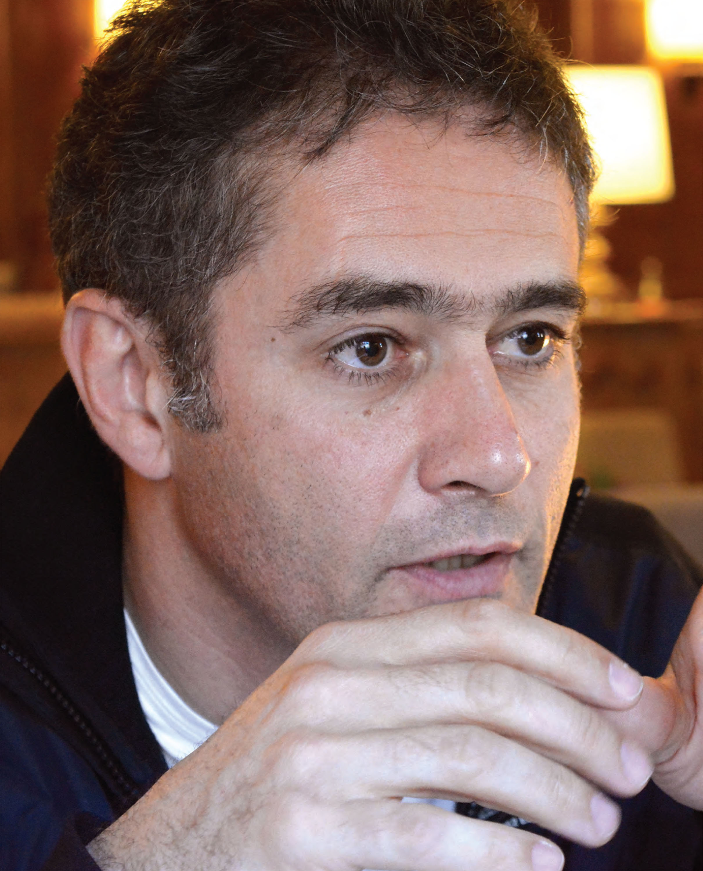 Lunch with... Karl Wendlinger image