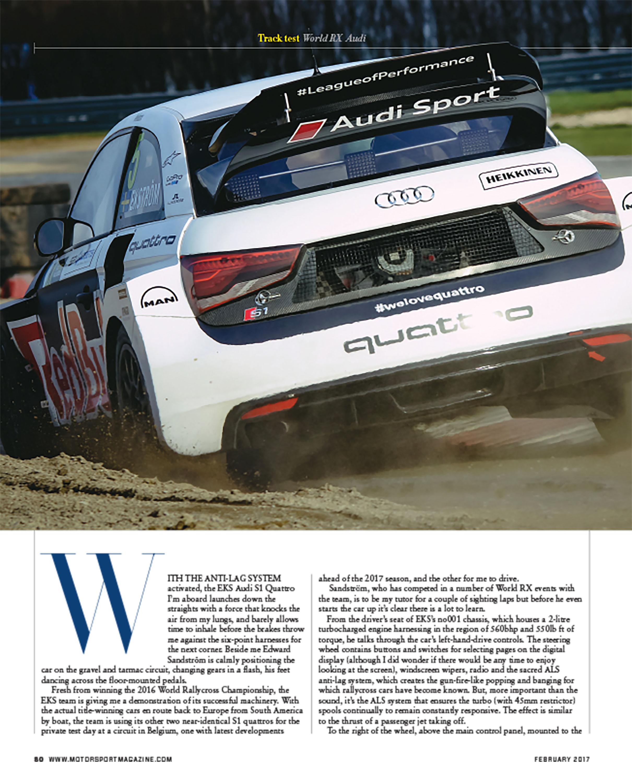 Track test: World RX Audi image