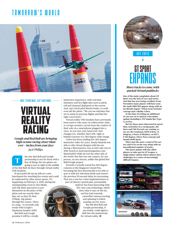 GT Sport expands image