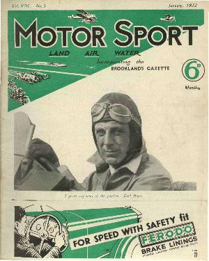 Cover of archive issue January 1932