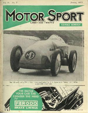 Cover of archive issue January 1933