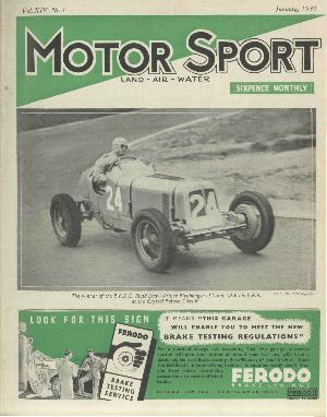 Cover of archive issue January 1938