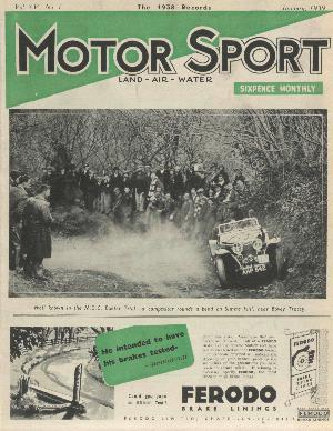 Cover image for January 1939
