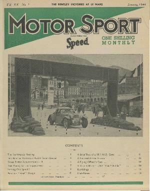 Cover of archive issue January 1944