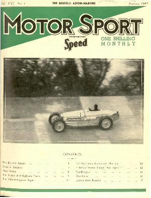 Cover of archive issue January 1945