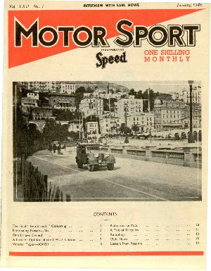 Cover of archive issue January 1946