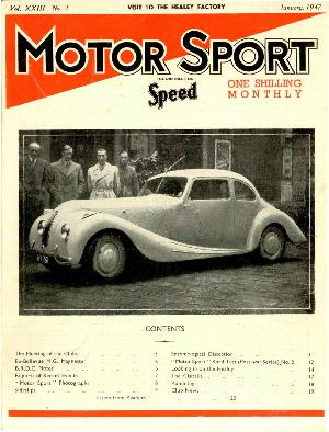Cover of archive issue January 1947