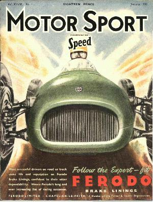 Cover image for January 1952